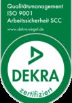 Qualitätsmanagement Zertifikat Arbeitssicherheit SCC ISO 9001