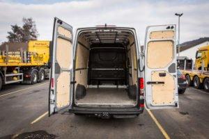 PKW Van - Autovermietung Innenraum